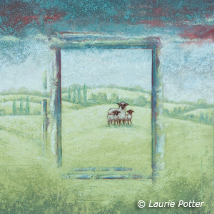 Far From The Fence - Copyright Laurie Potter